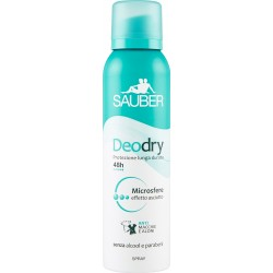 Sauber Deodry Spray 150 ml.