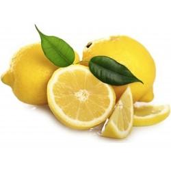 Limoni raccolti con foglia non spazzolato e non cerato kg.1
