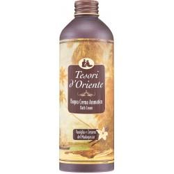 Tesori d'Oriente Bagno crema aromatico vaniglia e zenzero del Madagascar 500 ml.