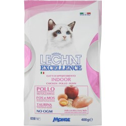 LeChat Excellence Indoor Pollo 400 gr.