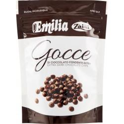 Zàini Emilia Gocce di Cioccolato Fondente Extra 200 gr.