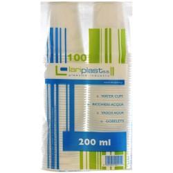 Lariplast bicchieri acqua x100 cc. 200