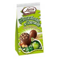 Laica ovetti cioccolato nocciole e cereali gr.120