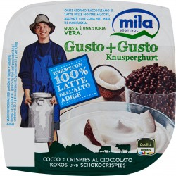 Mila Gusto+Gusto Cocco e Crispies al Cioccolato 150 gr.