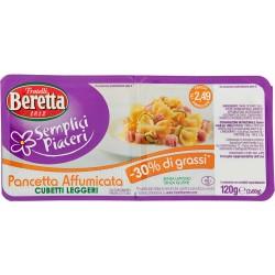 Beretta pancetta affumicata 30% di grassi gr.120