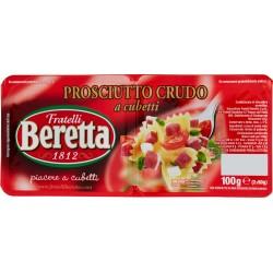 Fratelli Beretta Prosciutto crudo a cubetti gr.100