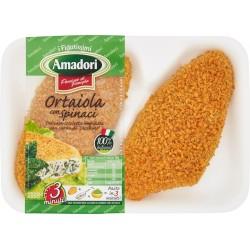 Amadori ortaiola con spinaci gr.220