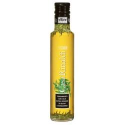 Casa Rinaldi olio extra vergine con rosmarino ml.250