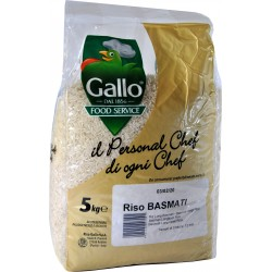 Riso gallo basmati food service kg.5