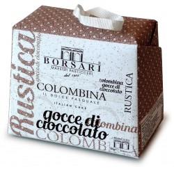Borsari colombina con gocce di cioccolato gr.100