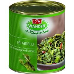 Viander friarielli in olio extra vergine d'oliva latta gr.800