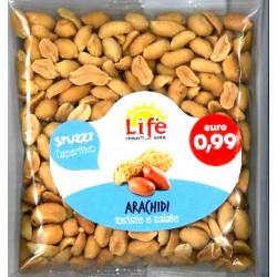 Life arachidi tostate salate gr.130