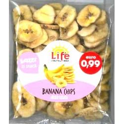 Life Banana chips gr.90
