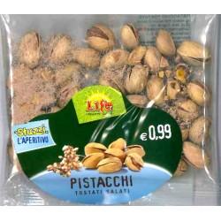 Life pistacchi tostati salati gr.35
