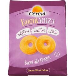 Céréal Buoni Senza Lievito senza glutine senza lievito e senza zucchero alla Panna 200