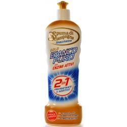 Spuma di Sciampagna Bianco Puro Extra Active Smacchiatore Pretrattante e Additivo Gel 400 ml.