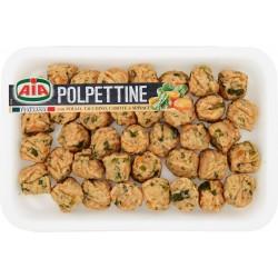 Aia Polpettine con Pollo, Tacchino, Carote e Spinaci gr.400
