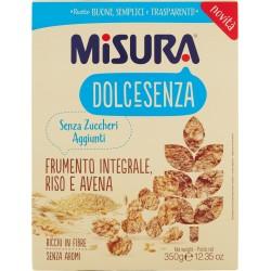 Misura Dolcesenza Frumento Integrale, Riso e Avena 350 gR.