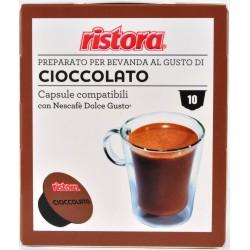 Ristora capsule cioccolato pezzi 10 x gr.8