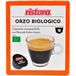 Ristora capsule orzo biologico gusto pezzi 10 x gr.8
