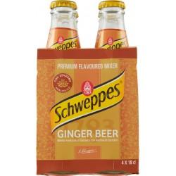 Schweppes ginger beer cl.18x4