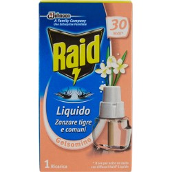 Raid Liquido ricarica 30 notti gelsomino