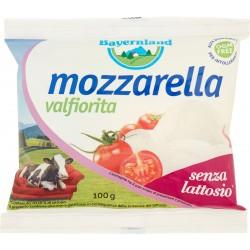 Bayernland mozzarella valfiorita bocconcino senza lattosio 100 gr.