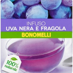 Bonomelli Infuso uva nera e fragola 23 gr. x10 filtri