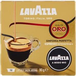 SpA Lavazza A Modo Mio, Qualità Oro Sinfonia Perfetta Caffè Espresso, Intensità 8/13 - 12 Capsule