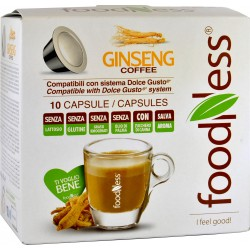Foodness dolce gusto ginseng 10 cialde gr.140