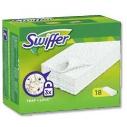 Swiffer ricambio pavimenti confezione da 18 pz.
