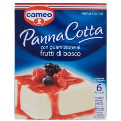 Cameo panna cotta frutti di bosco - gr.82