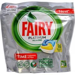 Fairy platinum lemon 16 pezzi