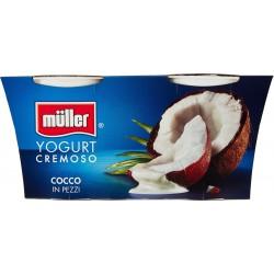 Muller Yogurt cocco cremoso gr.125x2