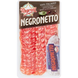 Negroni salame negronetto vaschetta gr.75