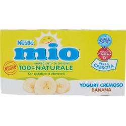 NESTLÉ MIO Yogurt Cremoso Banana 2 x 125 g
