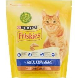 PURINA FRISKIES Gatto Crocchette Sterilizzati con Tacchino e con Verdure 375 gr.