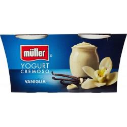 Muller Yogurt vaniglia cremoso gr.125x2