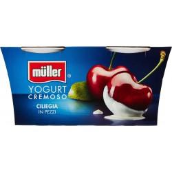 Muller yogurt ciliegia cremoso gr.125x2
