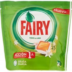 Fairy Caps All in One - Arancia - 25 Caps per Lavastoviglie