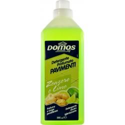 Domos detergente profumato pavimenti zenzero/lime ml.1000