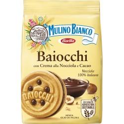Mulino Bianco Baiocchi con Crema alla Nocciola e Cacao 260 gr.
