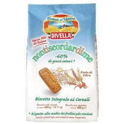 Divella biscotti Non ti scordar di me integrali ai cereali gr.400