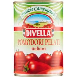 Divella Delizie Campagnole Pomodori Pelati Italiani 400 gr.
