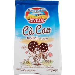 Divella biscotti ca cao al cacao gr.400
