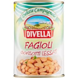 Divella fagioli borlotti lessati gr.400