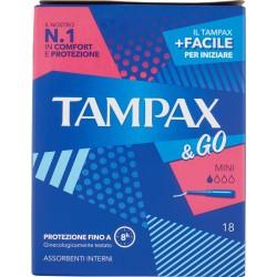 Tampax &Go Mini x18