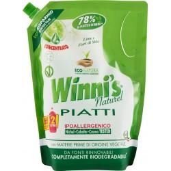 Winni's piatti lime-fiori mela ricarica lt.1