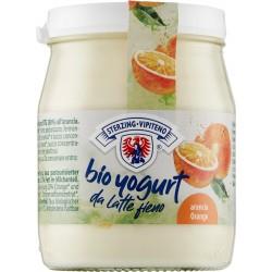 Sterzing Vipiteno bio Yogurt da latte fieno STG intero all'arancia 150 gr.