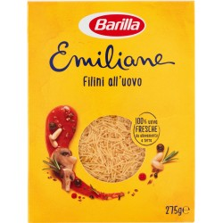 Barilla Emiliane Filini all'uovo 275 gr.